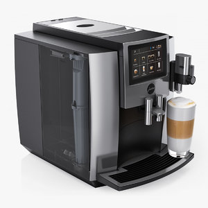 coffee maker jura s8 3D
