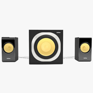 3D speakers subwoofer model