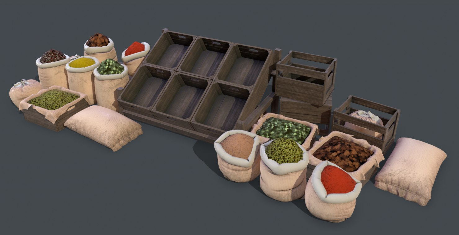 market containers model