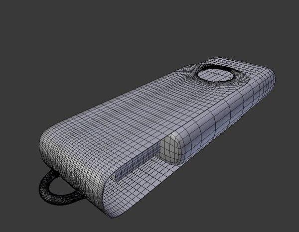 3D model usb