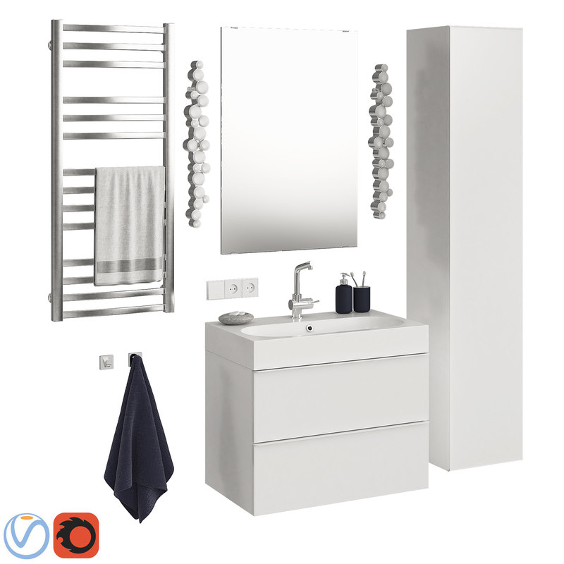 Ikea Godmorgon set 8