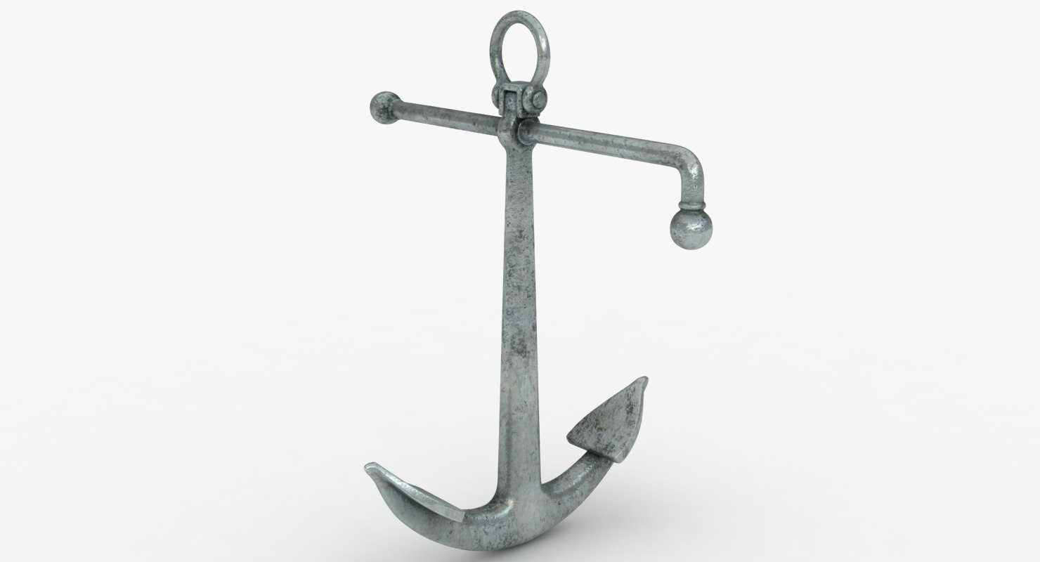 anchor old admiralty 3D