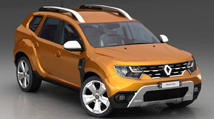 3D renault duster