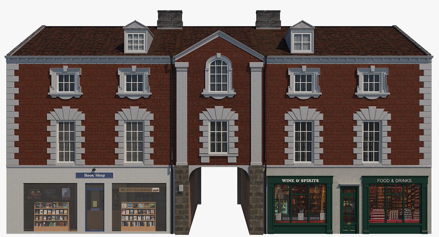 british building 3D