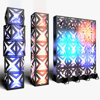 3D stage decor 17 modular
