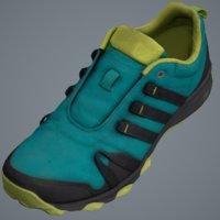 3D scan sneakers model