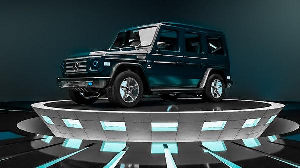 mercedes g-class car 3D