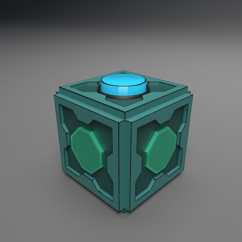 3D mr cube fidget