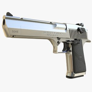desert eagle mark xix 3D model