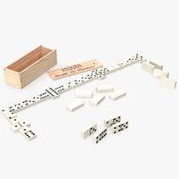 domino 3D model