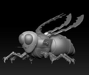 3D robotic bee
