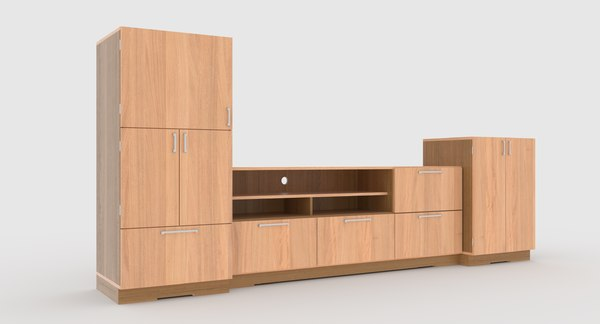 3D tv stand 66
