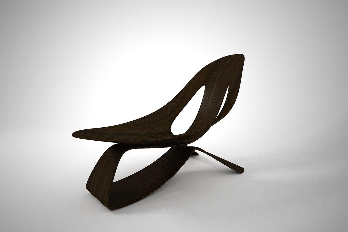 furnishings rocking chair model