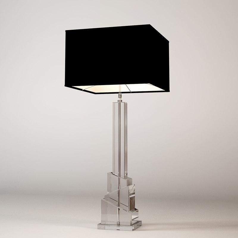 eichholtz lamp modena 3D model