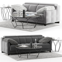 dvn star gino sofa set 3D