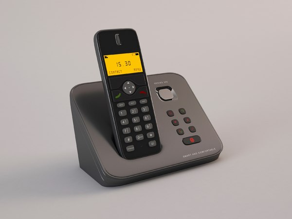 3D wireless phone