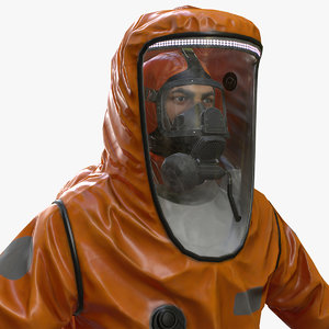 hazmat worker level 3D