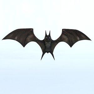 3D mammal animal bat