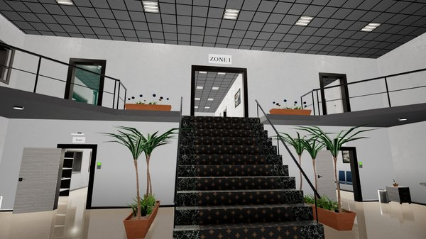 buildings furniture props 3D model