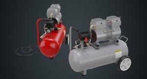 3D model air compressor 3a