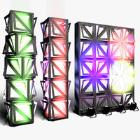 3D stage decor 20 modular model
