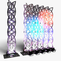 stage decor 22 modular 3D model