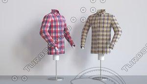 shirt fabric 3D