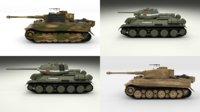 pack ww2 tiger model