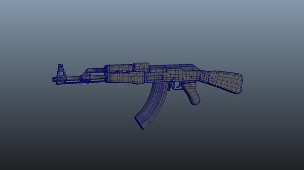 47 2017 uv 3D model