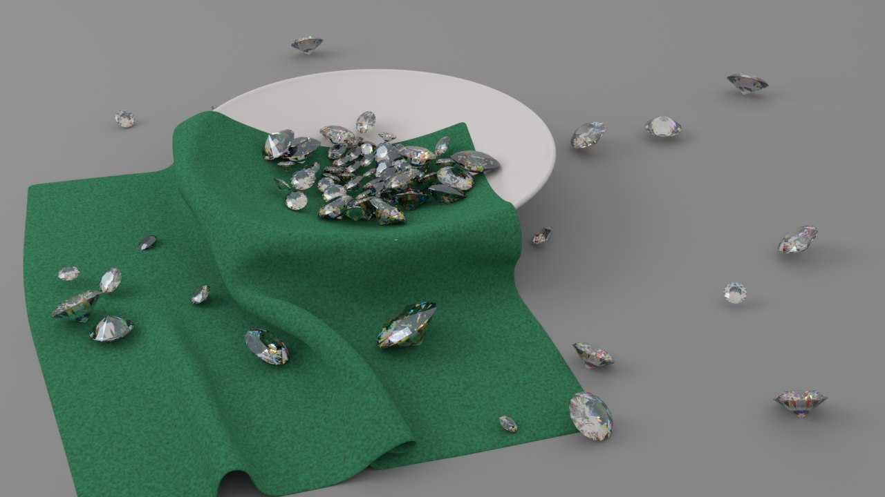 diamonds saucer 3D model