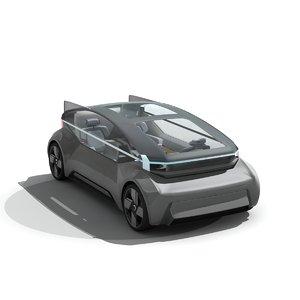 3D 360 concept model