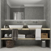 furniture bathroom 3D