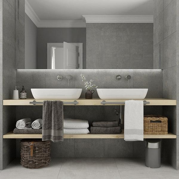 furniture bathroom 3D