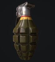 3D mk2 grenade