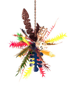 tropical chandelier chris wolston model