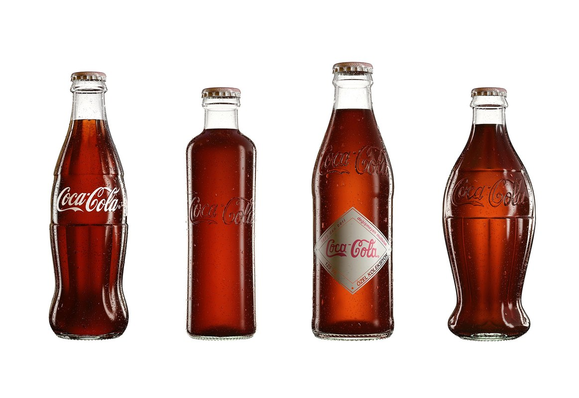 cola bottle 3D model