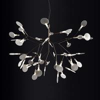 3D chandelier moooi heracleum ii model