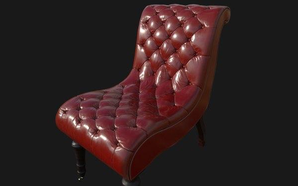 3D george chair model
