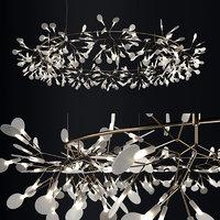 3D chandelier moooi heracleum big