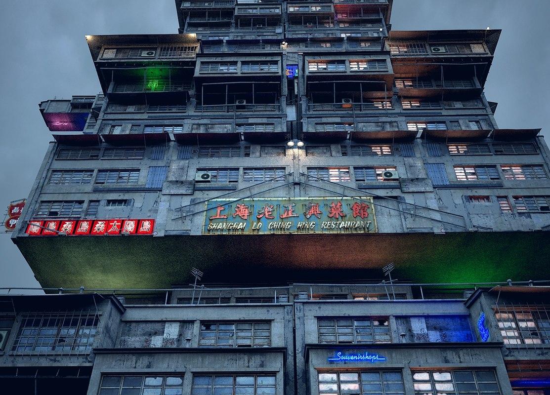 dystopia building model