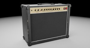 guitar amplifier amps 3D