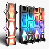 3D stage decor 31 modular