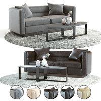 3D model curations limited avington sofa
