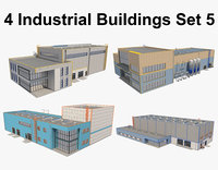 Industrial Buildings Set_5