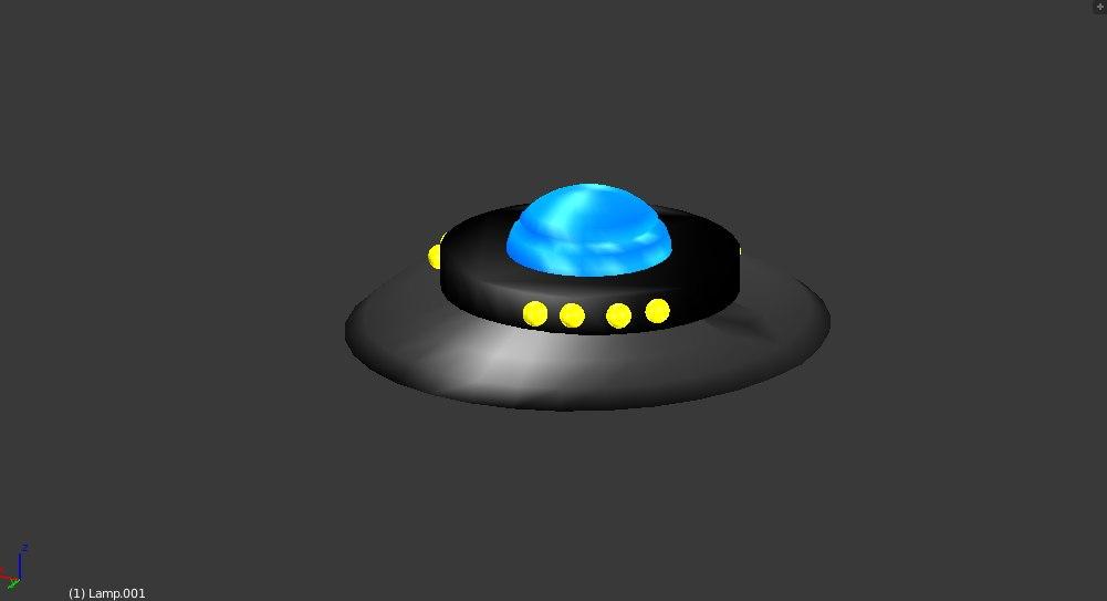 flying saucer 3D