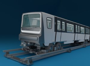 train paris mp-14 3D model