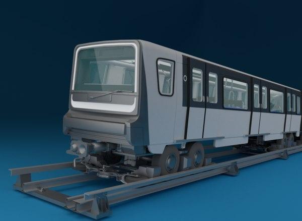 train paris mp-14 3D model