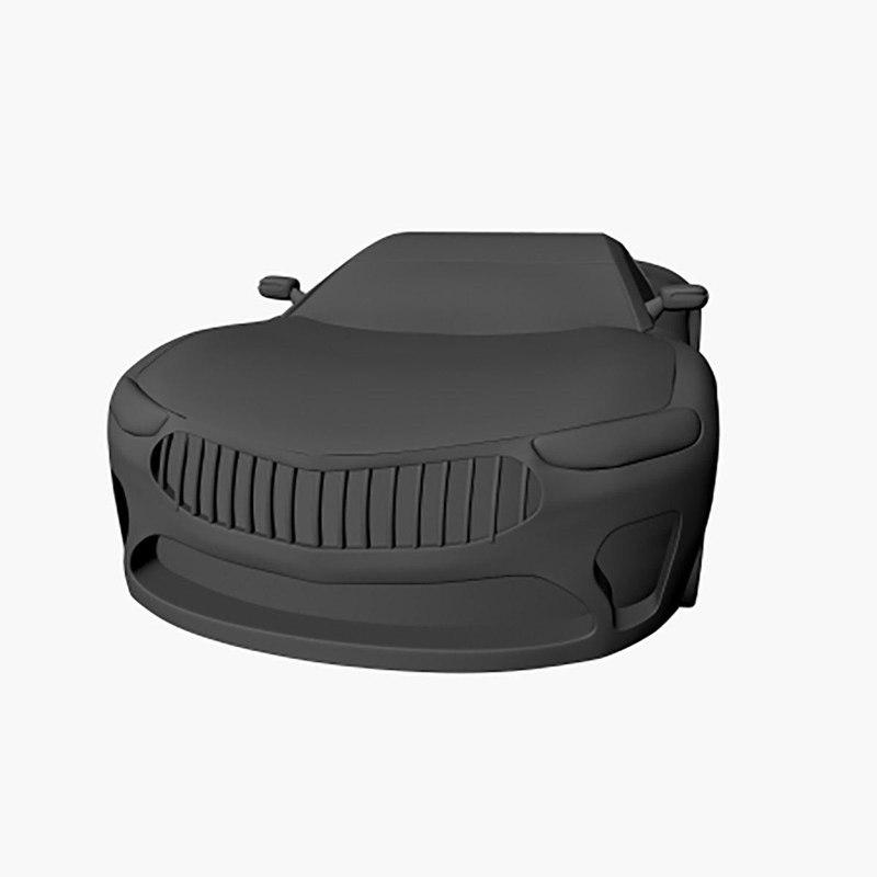 luxury car 3D