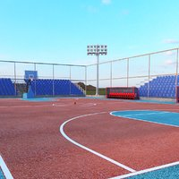 3D model basketball court