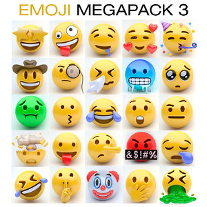 emoji megapack 3 model